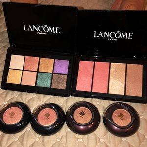Lancôme Eyeshadows and Face Pallette